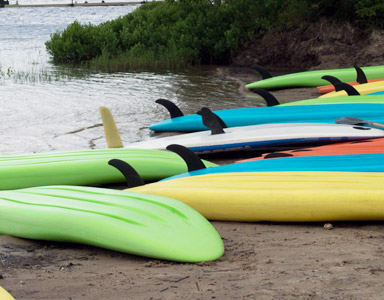Paddle Boarding, Ontario Wellness Retreat