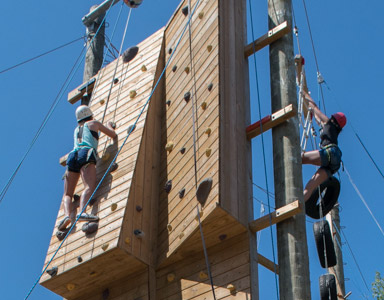 Wall Climbing, Wellness Retreat Activity